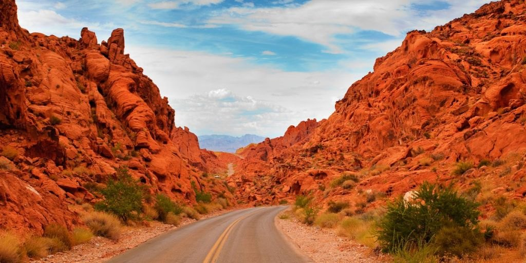 The Valley of Fire Road