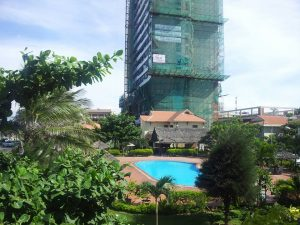 Quang cảnh toàn khu khách sạn Tourane nhìn từ ban công phòng 700.